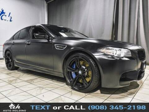 2015 BMW M5 for sale at AUTO HOLDING in Hillside NJ