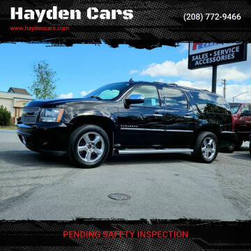 2013 Chevrolet Suburban for sale at Hayden Cars in Coeur D Alene ID