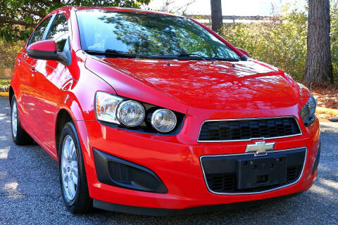 2015 Chevrolet Sonic for sale at Prime Auto Sales LLC in Virginia Beach VA