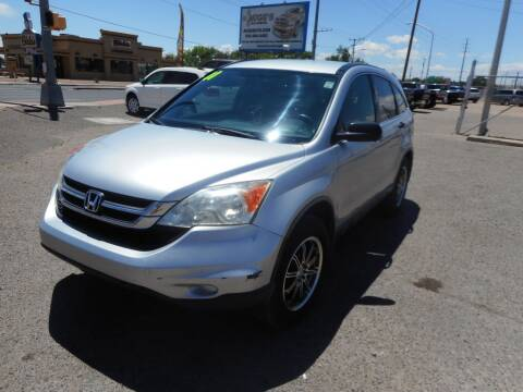 2011 Honda CR-V for sale at AUGE'S SALES AND SERVICE in Belen NM
