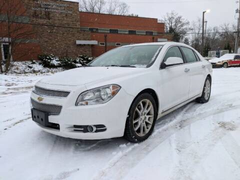 2009 Chevrolet Malibu for sale at DILLON LAKE MOTORS LLC in Zanesville OH