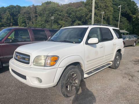2004 Toyota Sequoia for sale at Trocci's Auto Sales in West Pittsburg PA
