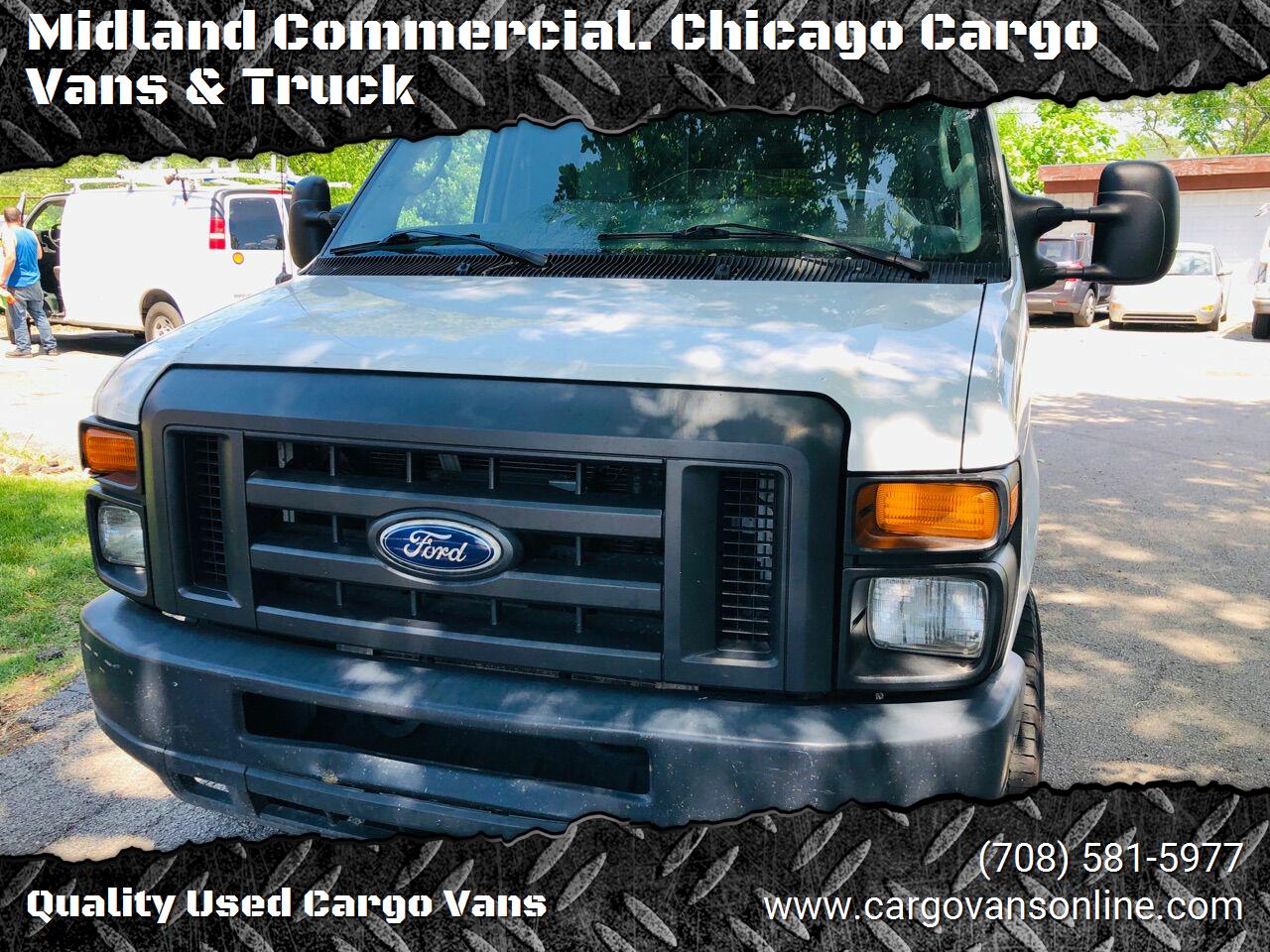 White 2014 FORD E-SERIES CARGO for sale in Bridgeview, IL