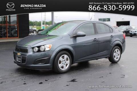 2013 Chevrolet Sonic for sale at Bening Mazda in Cape Girardeau MO