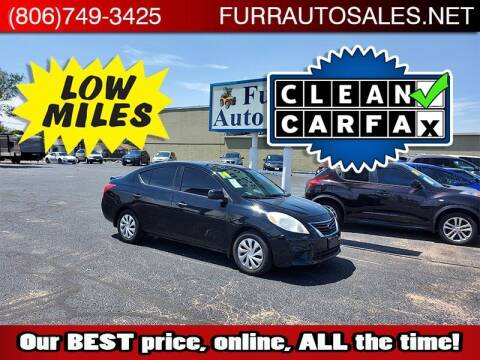 2014 Nissan Versa for sale at FURR AUTO SALES in Lubbock TX