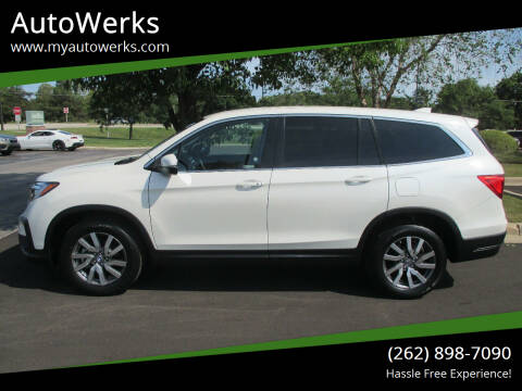 2019 Honda Pilot for sale at AutoWerks in Sturtevant WI