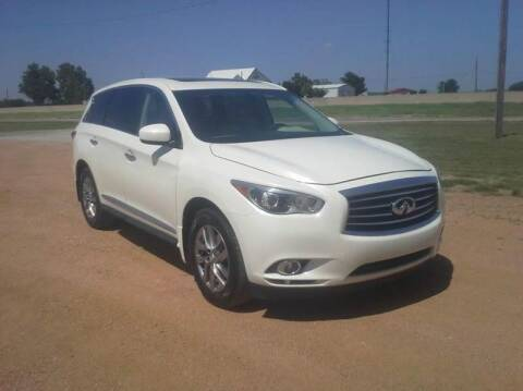 2015 Infiniti QX60 for sale at CAVENDER MOTORS in Van Alstyne TX