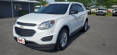 2017 Chevrolet Equinox for sale at Jacks Auto Sales in Mountain Home AR