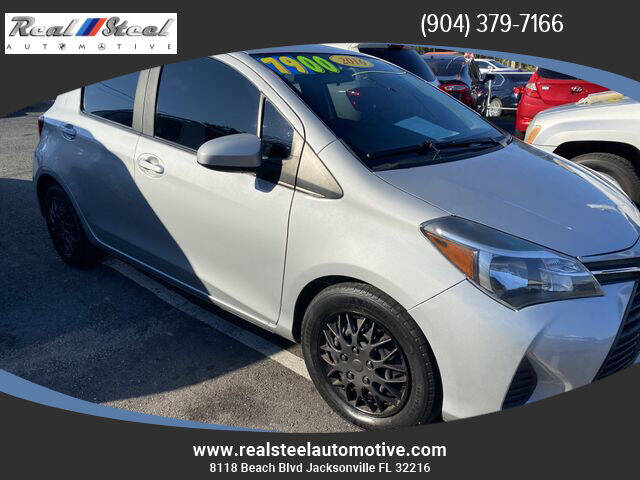 2016 Toyota Yaris for sale at Real Steel Automotive in Jacksonville FL