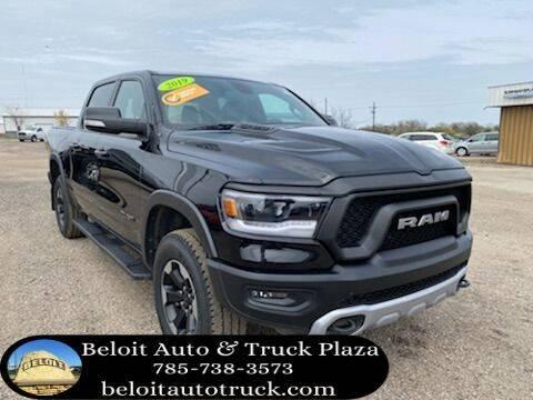 2019 RAM Ram Pickup 1500 for sale at BELOIT AUTO & TRUCK PLAZA INC in Beloit KS
