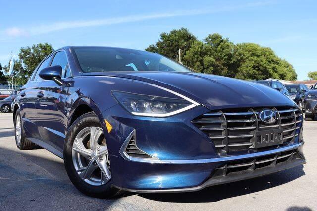 2021 Hyundai Sonata for sale at OCEAN AUTO SALES in Miami FL