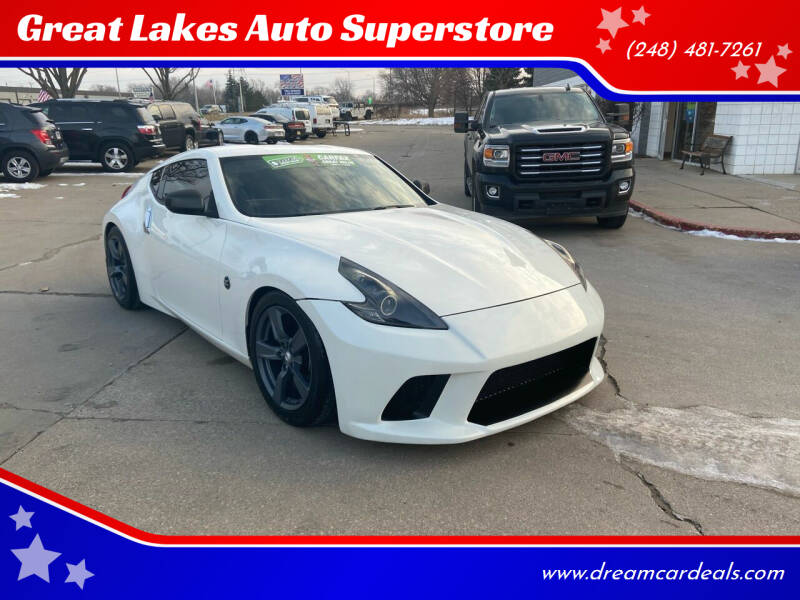 2009 Nissan 370Z for sale at Great Lakes Auto Superstore in Pontiac MI