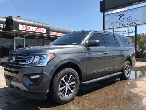 2019 Ford Expedition MAX for sale at NORRIS AUTO SALES in Oklahoma City OK