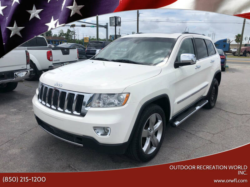 2012 Jeep Grand Cherokee for sale at Outdoor Recreation World Inc. in Panama City FL