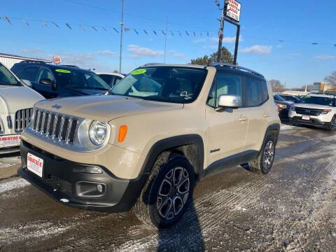 2015 Jeep Renegade for sale at De Anda Auto Sales in South Sioux City NE