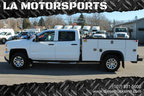 2017 Chevrolet Silverado 3500HD CC for sale at LA MOTORSPORTS in Windom MN