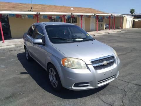 2008 Chevrolet Aveo for sale at Car Spot in Las Vegas NV