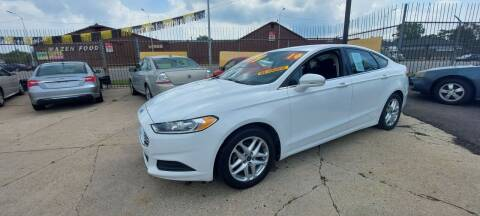 2014 Ford Fusion for sale at Frankies Auto Sales in Detroit MI