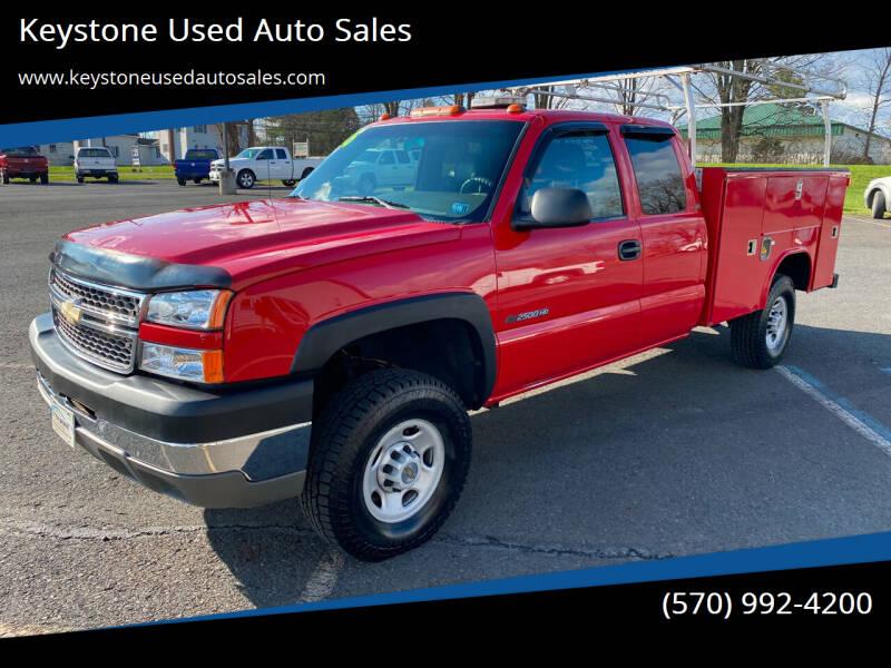 2005 Chevrolet Silverado 2500HD for sale at Keystone Used Auto Sales in Brodheadsville PA