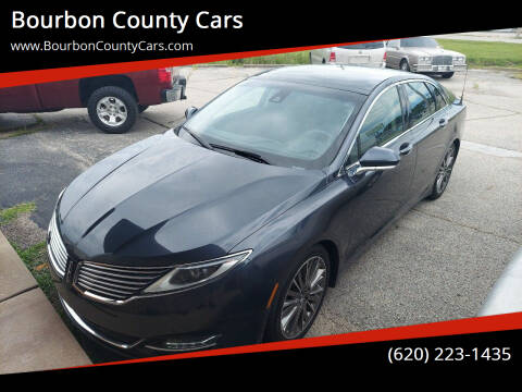2014 Lincoln MKZ for sale at Bourbon County Cars in Fort Scott KS