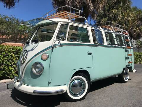1971 Volkswagen Vanagon for sale at DS Motors in Boca Raton FL