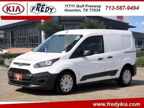 2017 Ford Transit Connect Cargo for sale at FREDY KIA USED CARS in Houston TX
