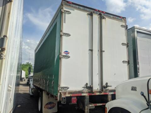 2013 UTILITY 20 FT CURTIAN SIDE BOX FLATBED CONTAINER STORAGE  for sale at Re-Fleet llc in Towaco NJ