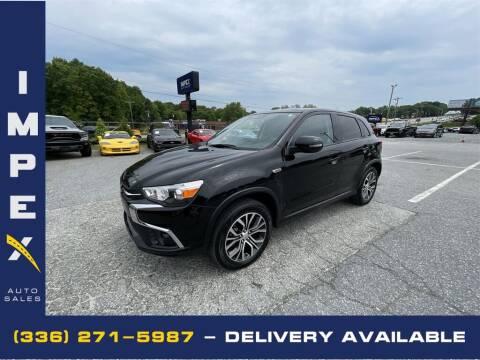 2019 Mitsubishi Outlander Sport for sale at Impex Auto Sales in Greensboro NC
