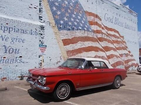 1963 Chevrolet Corvair for sale at LARRY'S CLASSICS in Skiatook OK