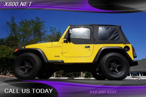 2000 Jeep Wrangler for sale at The Dealer in Fremont CA