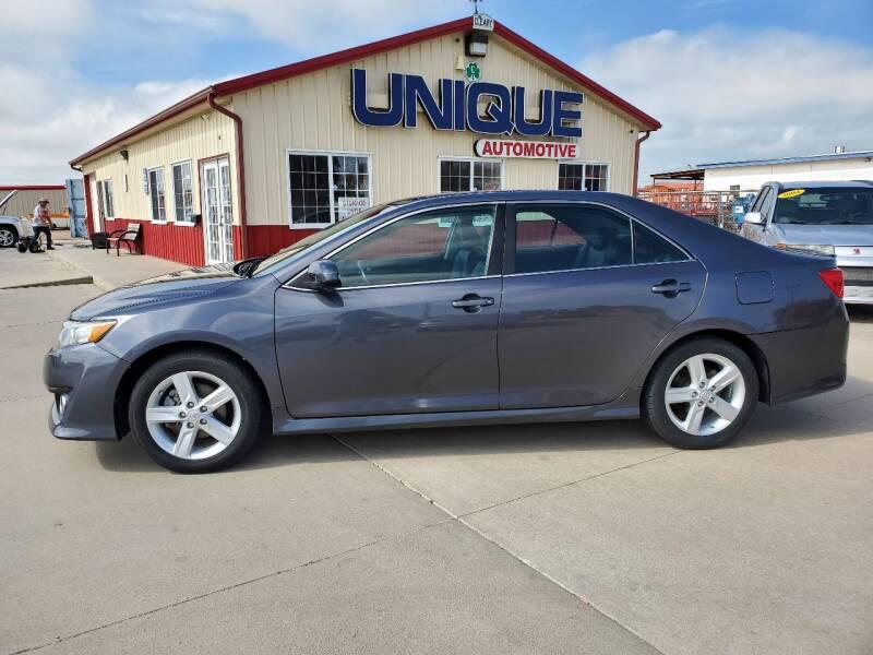 "2014 Toyota Camry for sale at UNIQUE AUTOMOTIVE ""BE UNIQUE"" in Garden City KS"