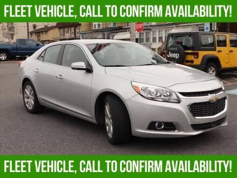 2015 Chevrolet Malibu for sale at Bob Weaver Auto in Pottsville PA