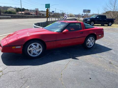 1990 Chevrolet Corvette for sale at Brian Jones Motorsports Inc in Danville VA