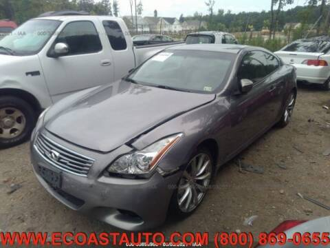 2009 Infiniti G37 Coupe for sale at East Coast Auto Source Inc. in Bedford VA