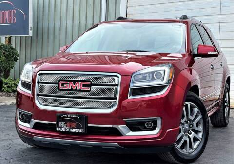 2013 GMC Acadia for sale at Haus of Imports in Lemont IL