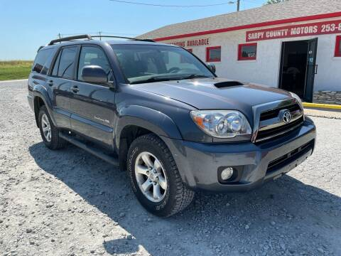 2006 Toyota 4Runner for sale at Sarpy County Motors in Springfield NE