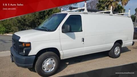 2012 Ford E-Series Cargo for sale at S & S Auto Sales in La Habra CA