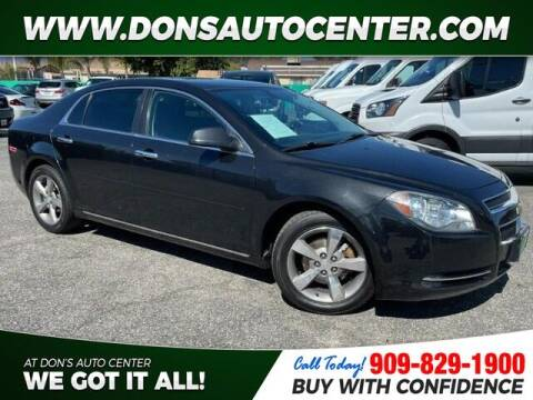2012 Chevrolet Malibu for sale at Dons Auto Center in Fontana CA