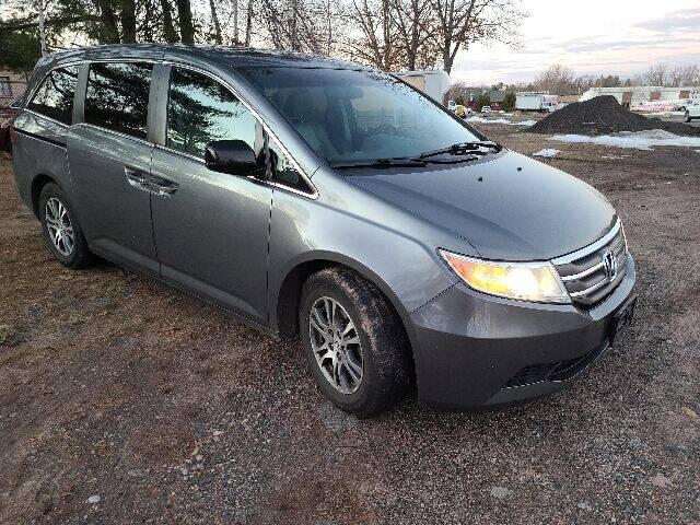 2011 Honda Odyssey for sale at BETTER BUYS AUTO INC in East Windsor CT