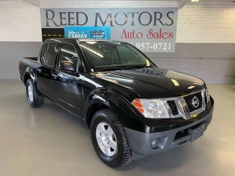 2012 Nissan Frontier for sale at REED MOTORS LLC in Phoenix AZ