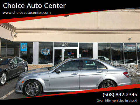2010 Mercedes-Benz C-Class for sale at Choice Auto Center in Shrewsbury MA