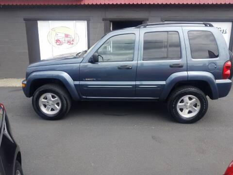 2002 Jeep Liberty for sale at Bonney Lake Used Cars in Puyallup WA