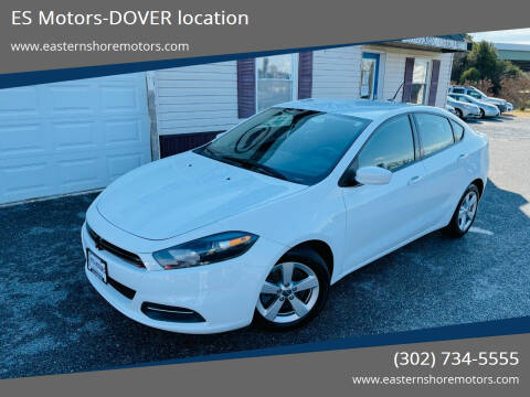 2015 Dodge Dart for sale at ES Motors-DAGSBORO location - Dover in Dover DE