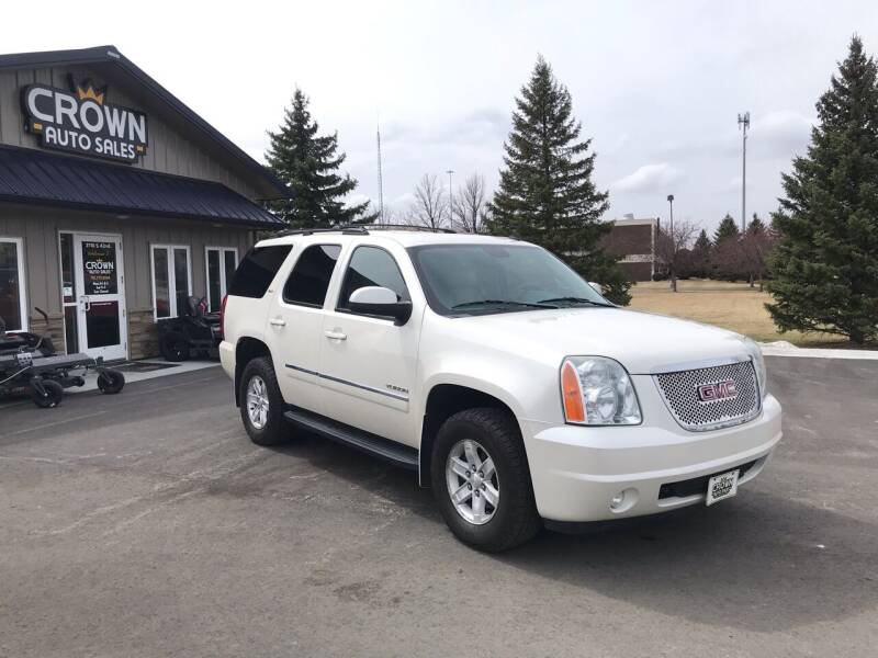 2011 GMC Yukon for sale at Crown Motor Inc in Grand Forks ND