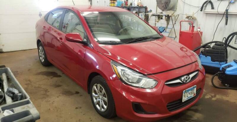 2013 Hyundai Accent for sale at WB Auto Sales LLC in Barnum MN