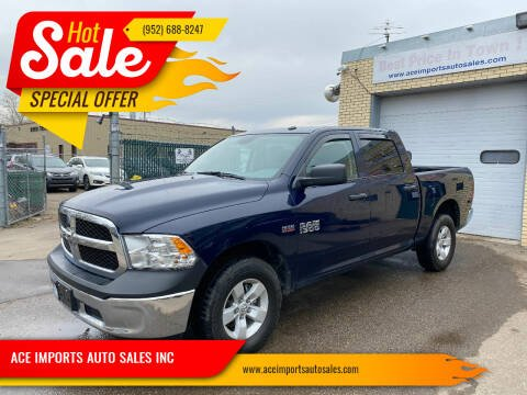 2017 RAM Ram Pickup 1500 for sale at ACE IMPORTS AUTO SALES INC in Hopkins MN