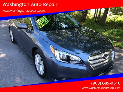 2016 Subaru Legacy for sale at Washington Auto Repair in Washington NJ