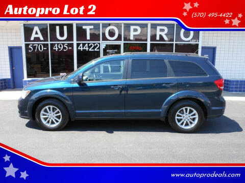 2013 Dodge Journey for sale at Autopro Lot 2 in Sunbury PA