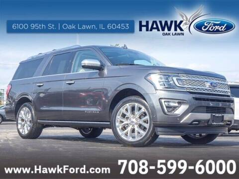 2019 Ford Expedition MAX for sale at Hawk Ford of Oak Lawn in Oak Lawn IL