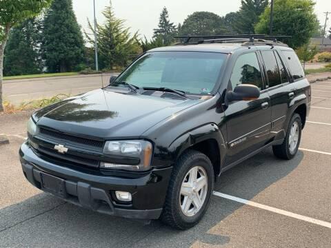 2002 Chevrolet TrailBlazer for sale at Washington Auto Sales in Tacoma WA